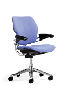 Blue Ergonomic Office Chair for Sale