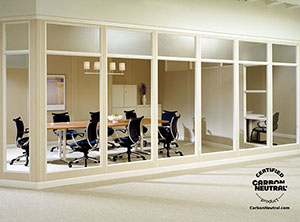 Certified Carbon Neutral Floor-To-Ceiling Dividers