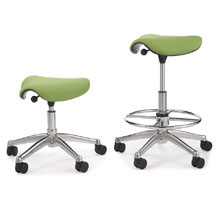 Ergnomic Gliding Stool for sale